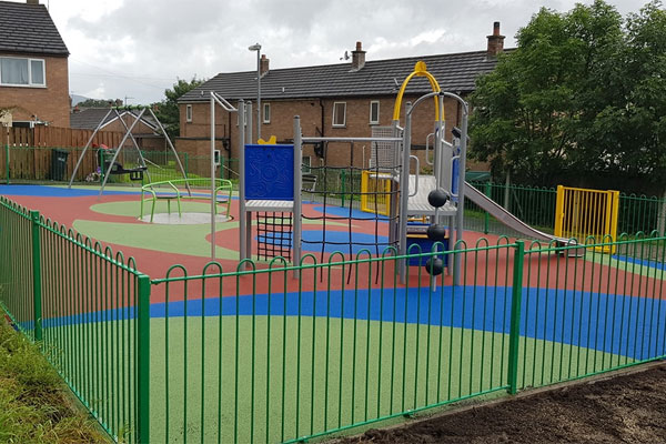 New Playground Install in Cynwd, Corwen, North Wales