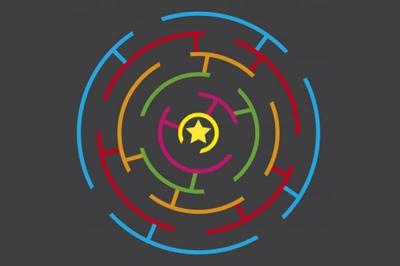 Circular Maze Markings