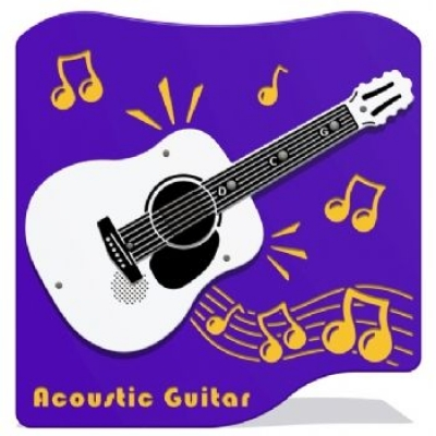 PlayTronic Acoustic Guitar Musical Play Panel