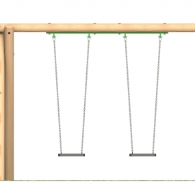 Double swing unit