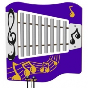 Ally Tube Glockenspiel Musical Play Panel