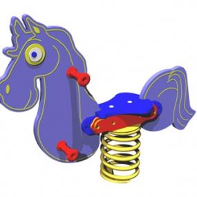 Horse Spring Rider