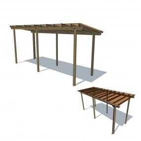 Pergola shelter