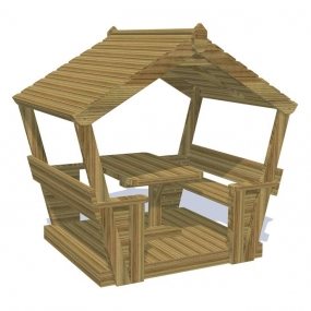 Play Cabin with Table